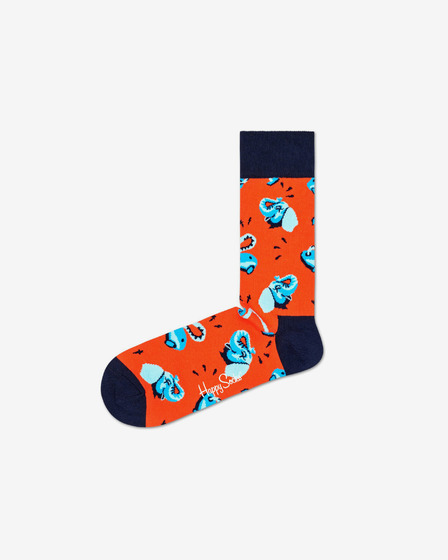 Happy Socks Clean Elephant Zokni